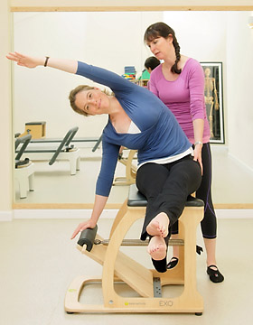 Pilates tutors at studio in Wiltshire